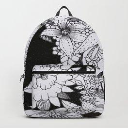 Flowers over Stars Backpack