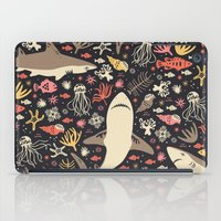 marina and the diamonds iPad Cases featuring Oceanica by Anna Deegan