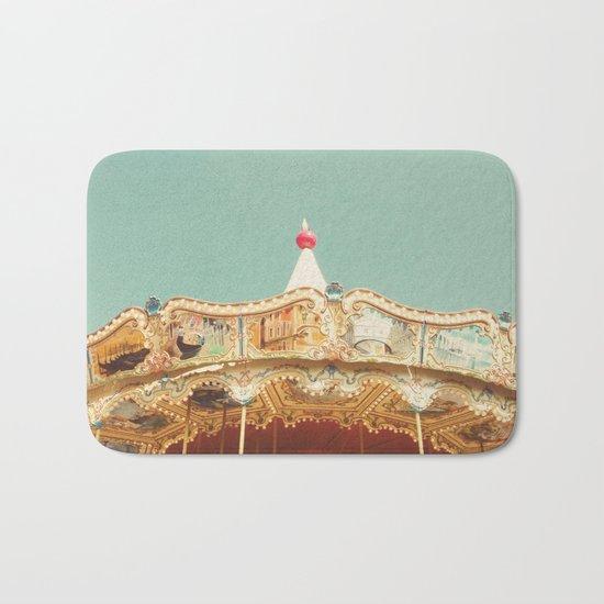 Carousel Lights Bath Mat