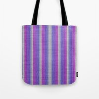 knitting Tote Bags featuring grannys knitting  by MehrFarbeimLeben