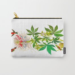 Ruff-Necked Hummingbird Carry-All Pouch