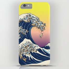 The Great Wave Of  Cat iPhone Case