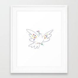 Picasso's Dove Framed Art Print
