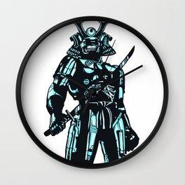 Cybersamurai Wall Clock