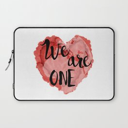 We Are One -Global Community Laptop Sleeve