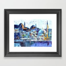 Üsküdar Sunset Framed Art Print