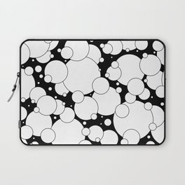 Black and White Pop 2 Laptop Sleeve