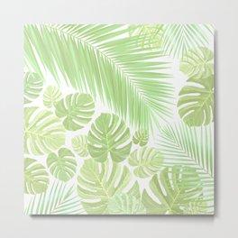 Pastel colors jungle Metal Print