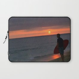 Sunset Skimboard Laptop Sleeve