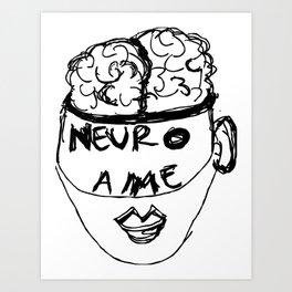 NeuroAME Art Print