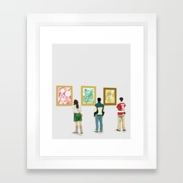 Ferris Bueller at the Art Museum Framed Art Print