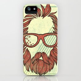 Beard and Shades iPhone Case