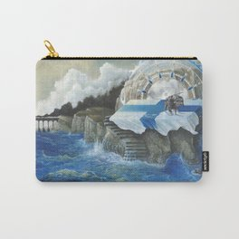 On The Other Side Of Wastelands - Oceanside Carry-All Pouch