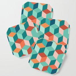 Abstract Geometric Pattern 03 Coaster