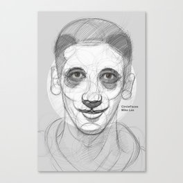 circlefaces Canvas Print