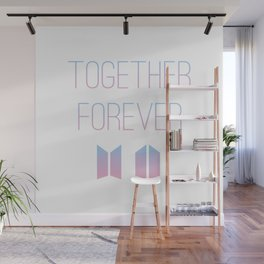 Together Forever BTS Wall Mural