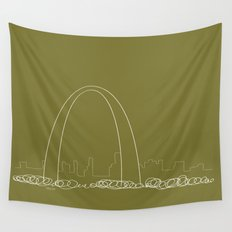 St. Louis by Friztin Wall Tapestry