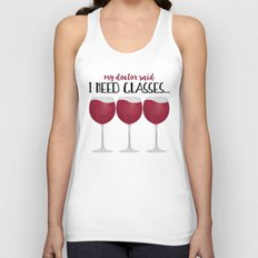 My Doctor Said I Need Glasses... Unisex Tank Top
