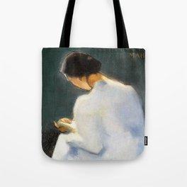 12,000pixel-500dpi - Maria - Helene Sofia Schjerfbeck Tote Bag