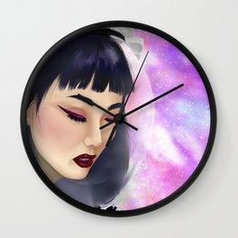 Space Gal Wall Clock