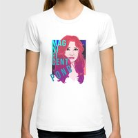 amy pond T-shirts featuring Magnificent Pond by Franc-eh