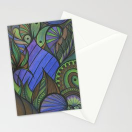 Of Fish and Feathers Stationery Cards