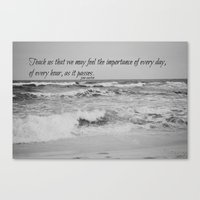 jane austen Canvas Prints featuring Jane Austen Every Day by KimberosePhotography