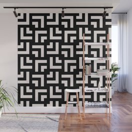 Bold geometric pattern - Stripe Tile Wall Mural