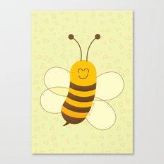 Cute Baby Bee Canvas Print