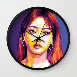 TWICE Jihyo Wall Clock