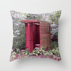 Privy to the Midwest Throw Pillow