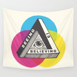 Seeing is Believing Wall Tapestry