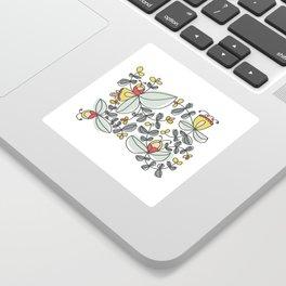 Watercolor Floral Sticker
