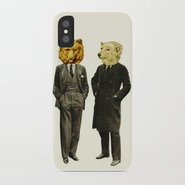 The Likely Lads iPhone Case