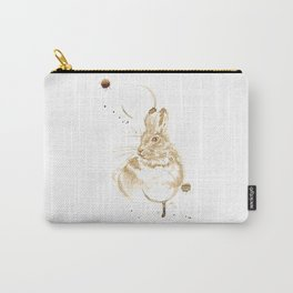 Coffee Rabbit Carry-All Pouch