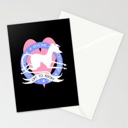 Opt to Adopt Stationery Cards