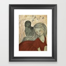Fall to Pieces Framed Art Print