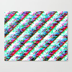 filtered diagonals Canvas Print