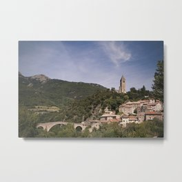 Olargues France Metal Print