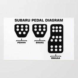 Subaru Rug