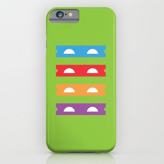 Teenage Minimal Ninja Turtles iPhone & iPod Case