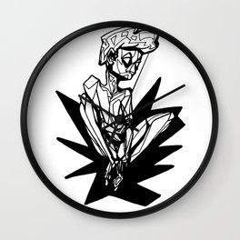 Angle Man Wall Clock