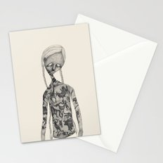 Animal man Stationery Cards