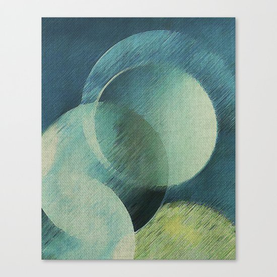 The Phases of the Blue Moons Canvas Print