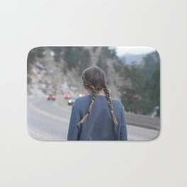 Highways and Headlights Bath Mat