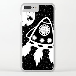 Go Away Clear iPhone Case