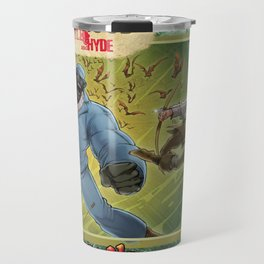 DRACULA VS. ROBIN HOOD VS. JEKYLL & HYDE! Travel Mug