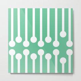 Sticks Series - Verditer Metal Print