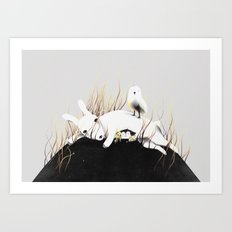 Discovery Channel Art Print