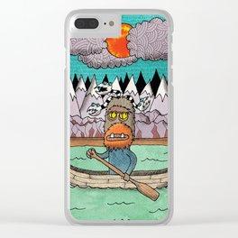Beast Canoe Clear iPhone Case